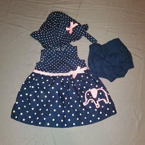 Other - Bundle 4 for $25 Cute blue polka dot dress